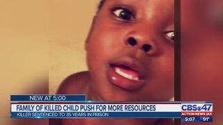 Family of child killed push for more resources