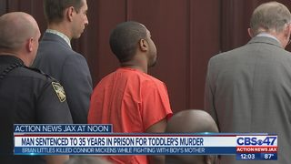 Jacksonville man sentenced in shooting death of toddler