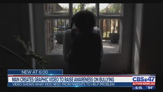 Jacksonville man creates powerful video to bring attention to bullying in schools