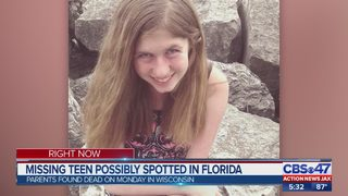 Missing teen possibly spotted in Florida
