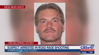 Suspect in road rage shooting arrested