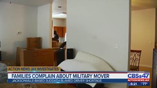 Families complain about military mover
