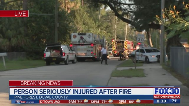 JSO: Woman pulled from burning Pine Forest mobile home dies