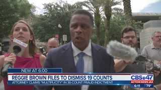 Reggie Brown files to dismiss 19 counts