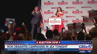 Ron DeSantis campaigns in Jacksonville, Andrew Gillium speaks to Action News Jax