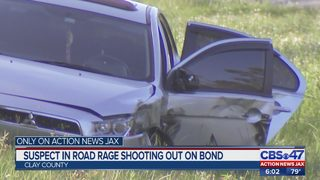 Suspect in road rage shooting out on bond