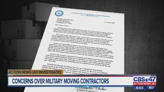 Concerns over military moving contractors