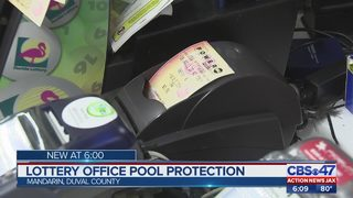 Lottery office pool protection
