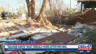 """Salvage Santa"" must rebuild after Michael"