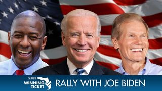 Jacksonville rally with Joe Biden, Andrew Gillum and Bill Nelson