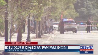 6 shot near Jacksonville Jaguars game