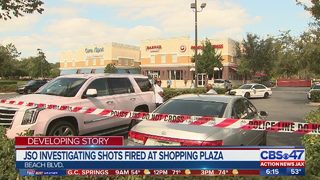 JSO investigating shots fired at shopping plaza