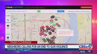 Neighbors calling for an end to gun violence