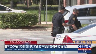 Shooting in busy shopping center