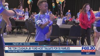 Tom Coughlin Jay Fund hosts VIP tailgate for pediatric cancer patients before Jaguars game