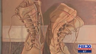 New local art exhibit by veterans shares powerful message about PTSD