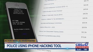 Action News Jax Investigates: Powerful iPhone hack being used by Jacksonville-area police agencies