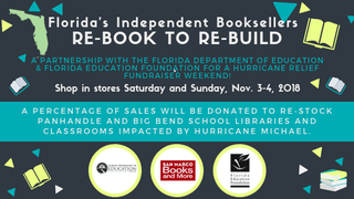Florida education officials, local bookstores partner to help hurricane-impacted schools