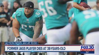 Former Jaguars offensive lineman dies at 38