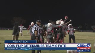 Coin flip knocks Jacksonville high school team out of playoffs