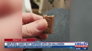 Candy tampering claims false, Clay County deputies say