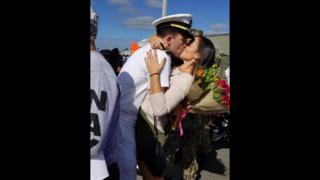 More than 300 sailors return from deployment on USS Farragut