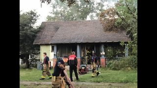 Fairfield house fire forces Jacksonville man out of home
