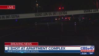 Two shot on sidewalk in Neptune Beach, police say