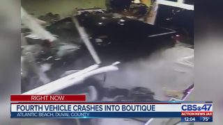 Atlantic Beach boutique hit by car for fourth time, owner says