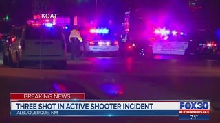 Three shot in Albuquerque active shooter incident