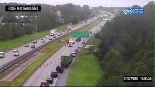 Deputies: Traffic slow on I-95 after 8 crashes