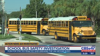 Action News Jax investigates: School bus safety investigation