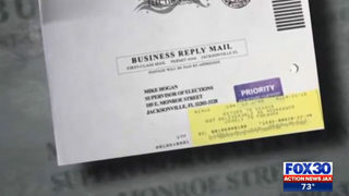 In contested Florida elections, overseas voter says ballot was returned