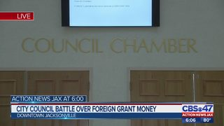 City Council battle of foreign grant money