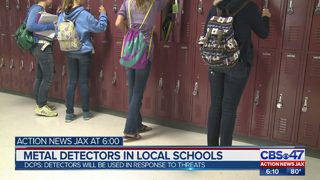 Duval County Public Schools to put metal detectors in local schools