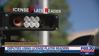 St. Johns County license plate readers leading to arrests, breaks in cases