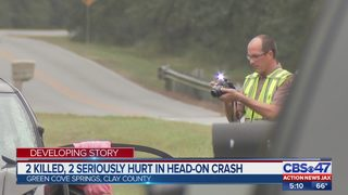 2 killed, 2 seriously hurt in head-on crash