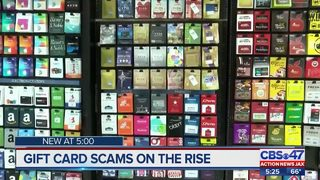 Gift card scams on the rise