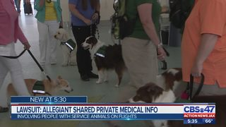 Lawsuit: Allegiant shared private medical information