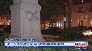 Protest restrictions pass in historic district