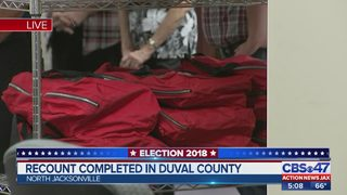 Recount completed in Duval County