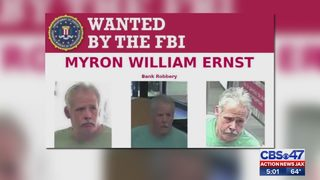 Search for serial bank robbery suspect