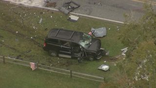 Photos: Head-on crash leaves two dead in Clay County