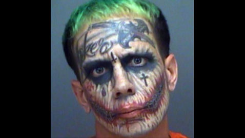 The Joker Florida: Man with green hair arrested again | WJAX-TV
