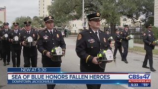 Sea of Blue honors fallen heroes