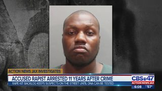 Accused rapist arrested 11 years after crime