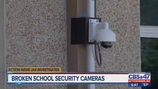 Action News Jax Investigates: Broken surveillance cameras in local schools