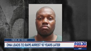DNA leads to rape arrest 10 years later