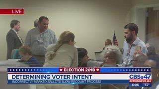 Determining voter intent