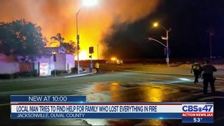 Local man tries to find help for family who lost everything in fire